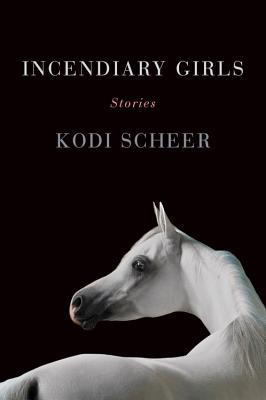 cover description: a white Arabian horse against a stark black background.