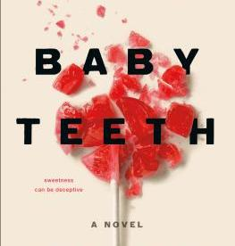 cover description: A shattered red lollipop against a cream-colored background.