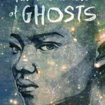 cover description: an illustration of a Black woman's face covered in glittering stars.