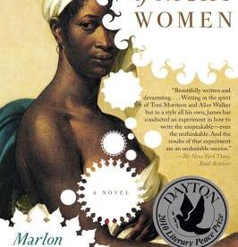 cover description: An 18th-century style illustration of a Black woman wearing a white turban.