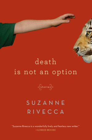 cover description: A bright red cover. A pale disembodied arm reaches out to stroke the head of a tiger.